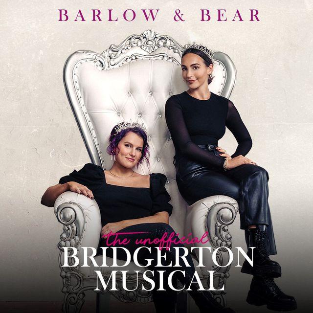 the unofficial bridgerton musical album cover