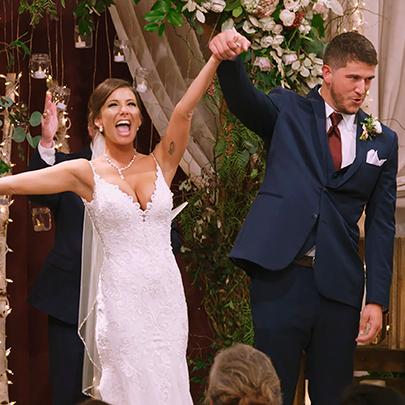 Facial expression, Wedding dress, Ceremony, Event, Bridal clothing, Formal wear, Bride, Wedding, Dress, Suit,