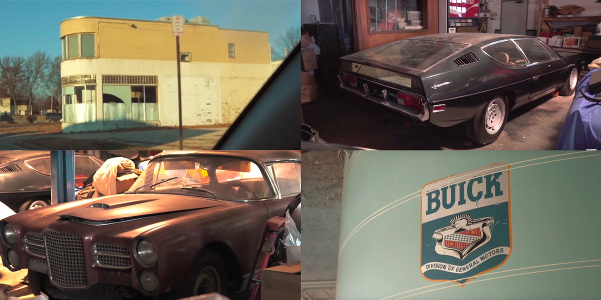 Check Out All These Cars Stashed In An Old Dealer