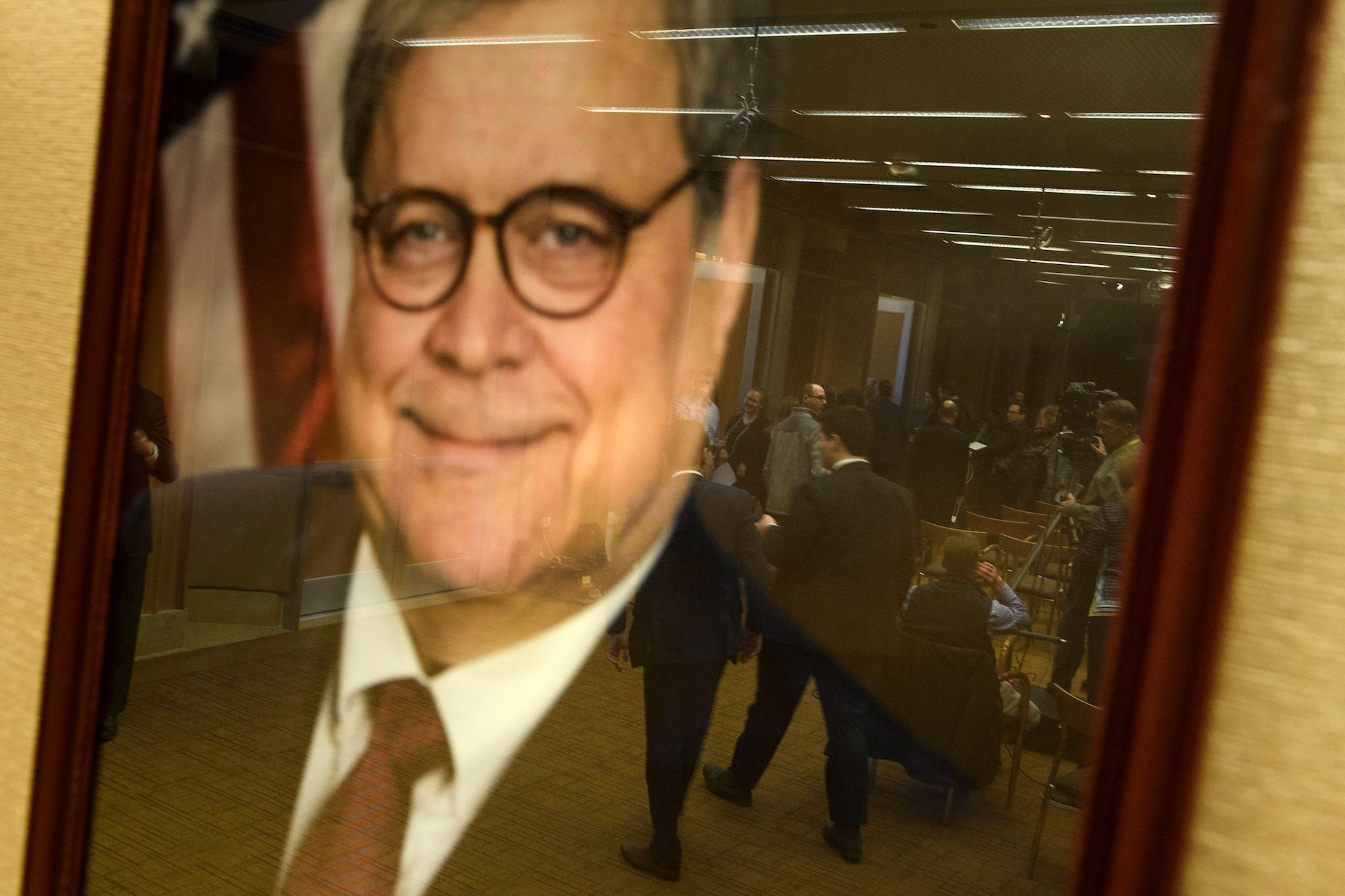 William Barr Said Trump Didn't Obstruct Justice—He Was Having a Sad at the Time!