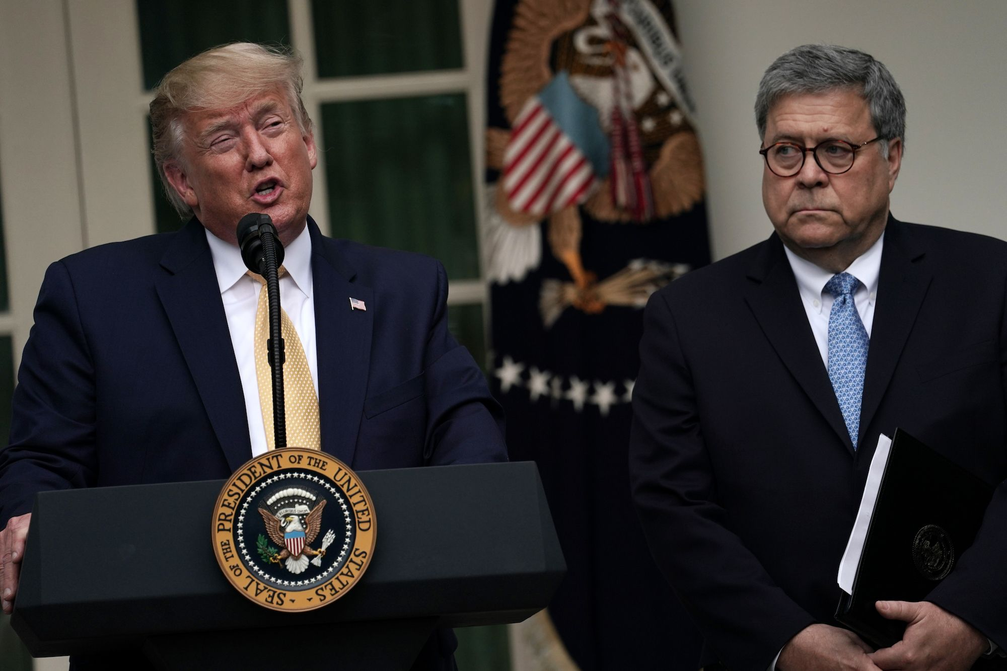 The Simplest Explanation Is That William Barr Sees the Writing on the Wall