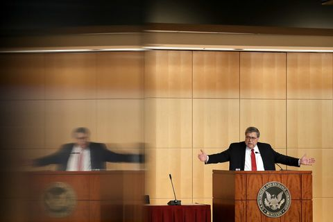 Attorney General William Barr Delivers Remarks At The SEC Criminal Coordination Conference