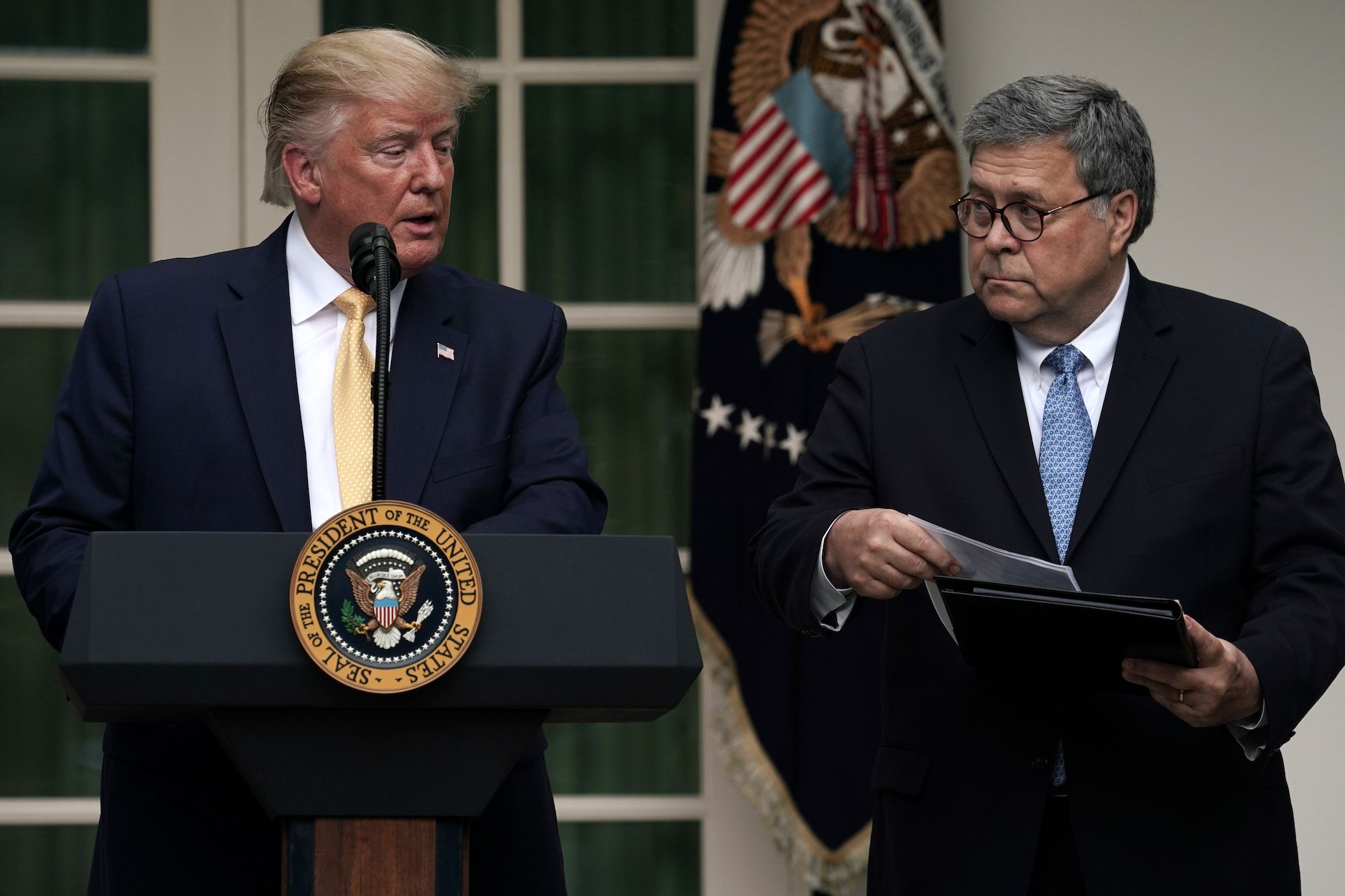 William Barr Is Not Having Some Ethical Crisis About Trump's Justice Department Interference
