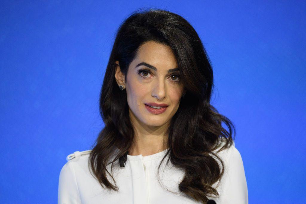 Amal Clooney criticises Donald Trump