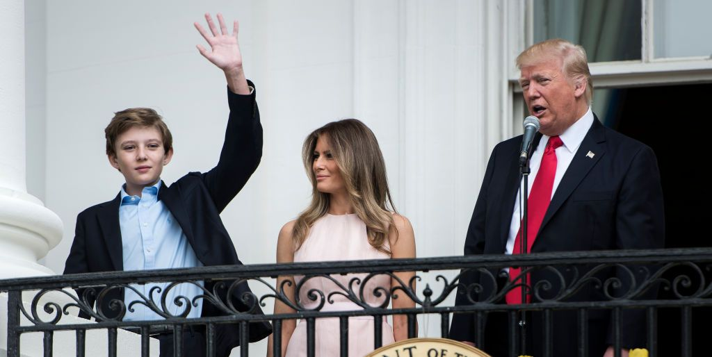 Past from in Barron First Can Trump Living Kids What Learn