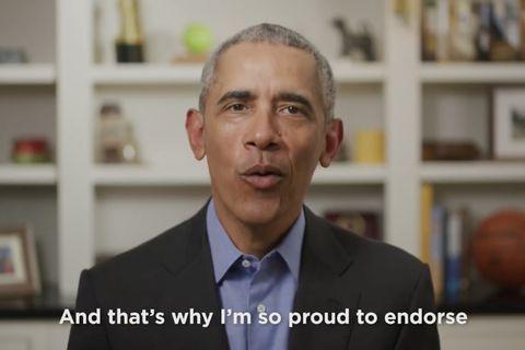 Former U.S. President Barack Obama Endorses Joe Biden For President