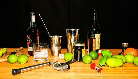 Cocktail equipment