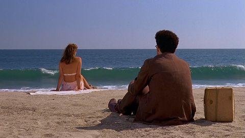 Beach, People on beach, Sea, Vacation, Ocean, Horizon, Summer, Fun, Sky, Barechested,