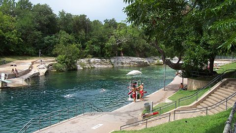 Barton Springs in Austin, Texas
