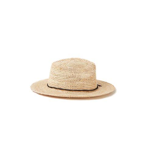 barts celery hoed raffia headwear stro