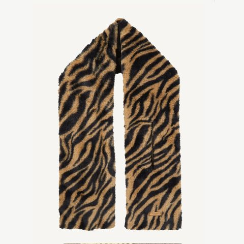 Brown, Pattern, Tan, Natural material, Beige, Fur, Animal product, Pattern, Shawl,