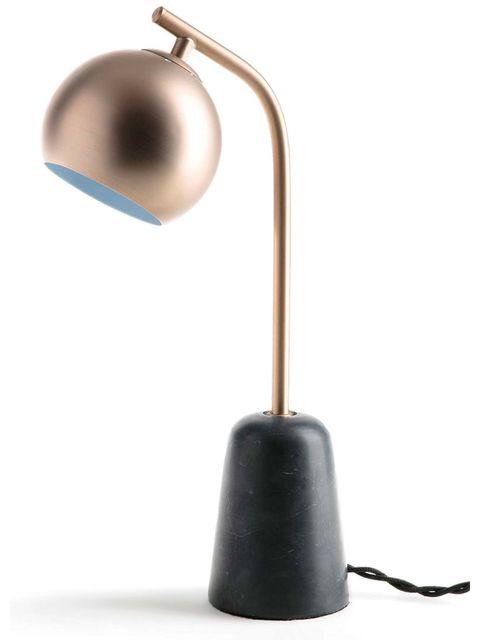 Lámpara de mesa Ethura, de mármol y metal de La Redoute Interieurs