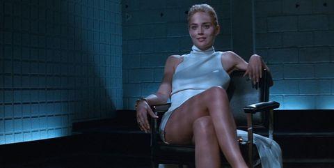 Sitting, Leg, Human leg, Blond, Thigh, Human body, Muscle, Photography,