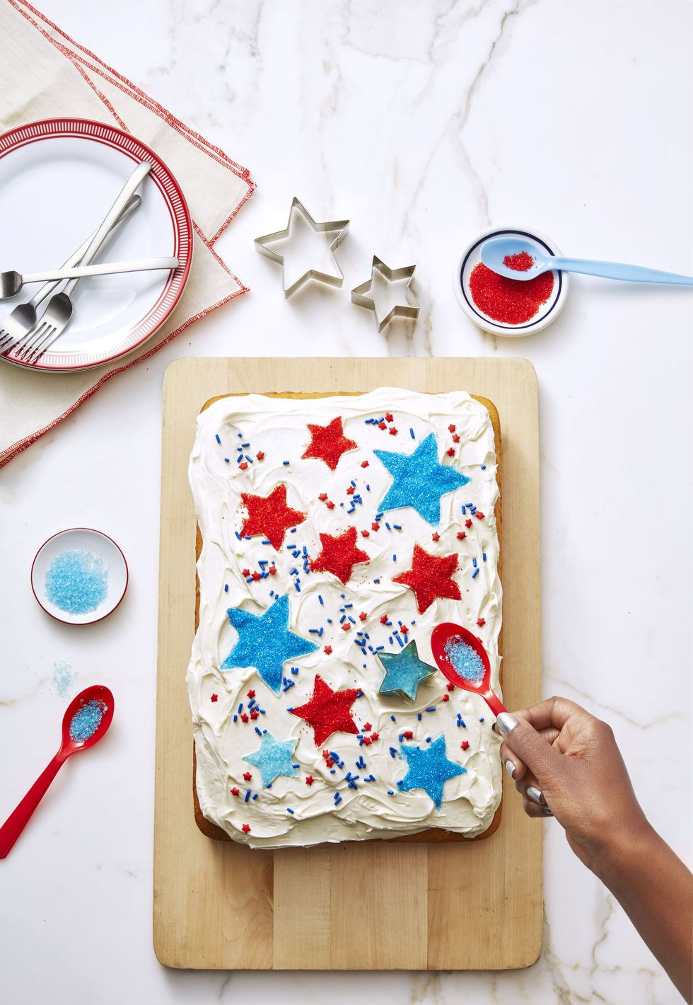 27 All-American 4th of July Cake Ideas For A Star-Spangled Celebration