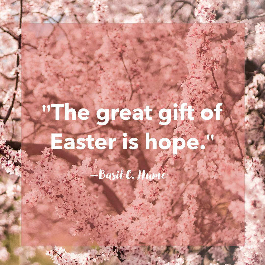 16 best easter quotes inspiring and cute messages about easter negle Images