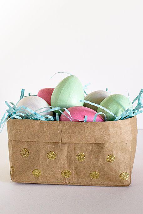 Paper Bag Basket