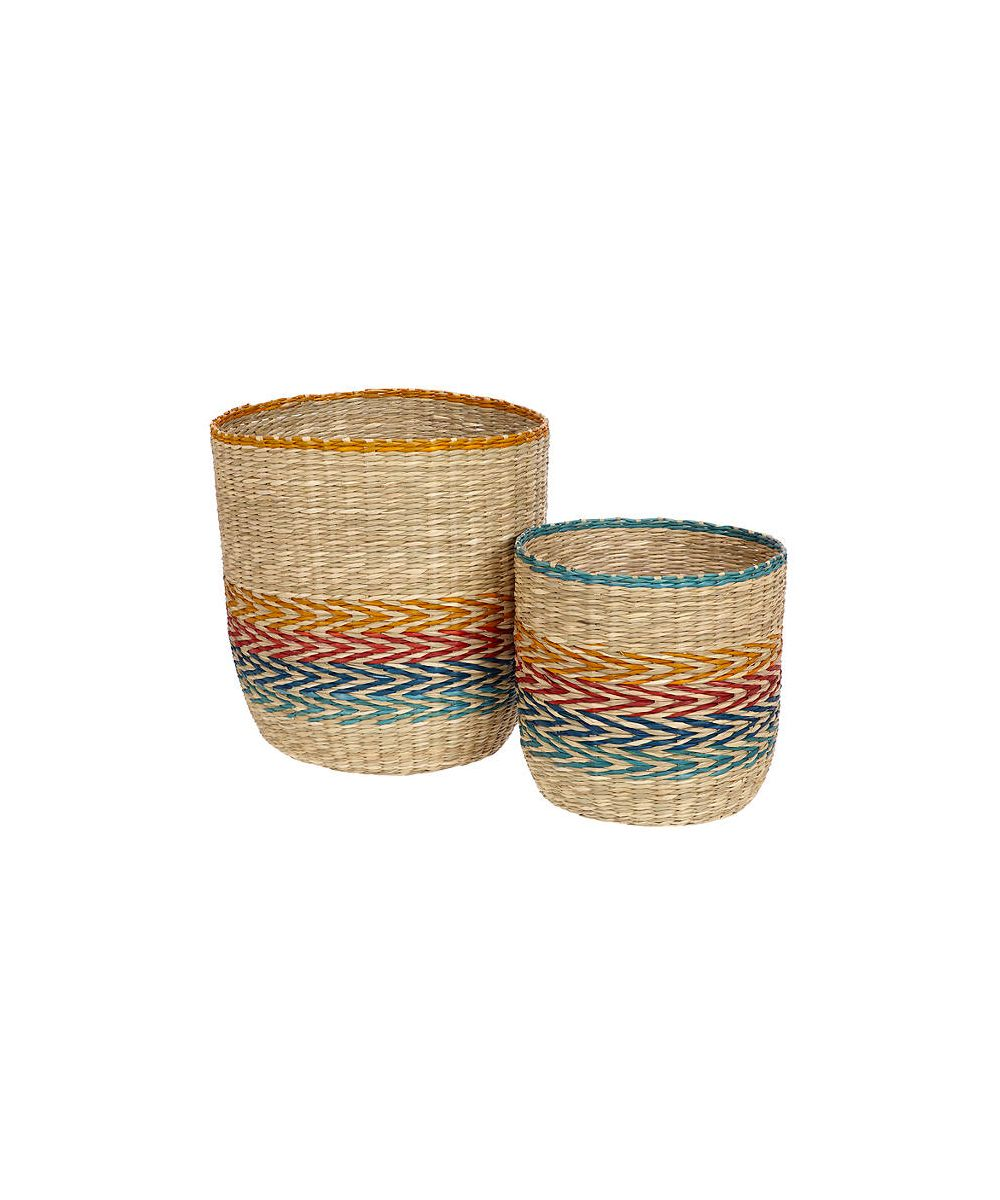 John Lewis & Partners Fusion Patterned Basket