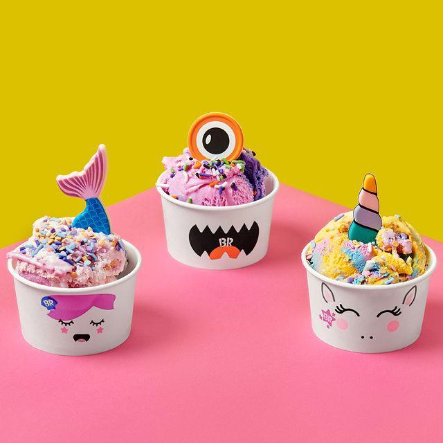baskin robbins creature creations ice cream