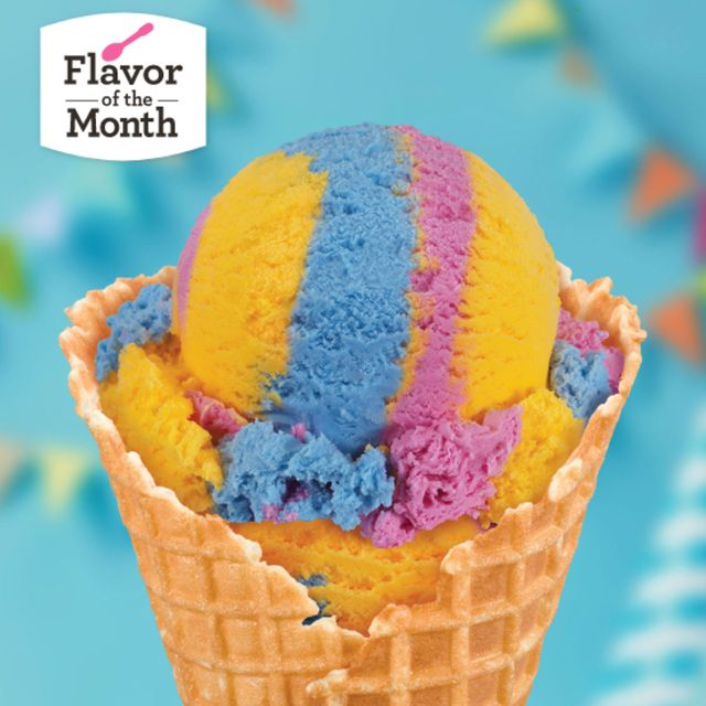 baskin robbins surprise party cake batter and buttercream ice cream