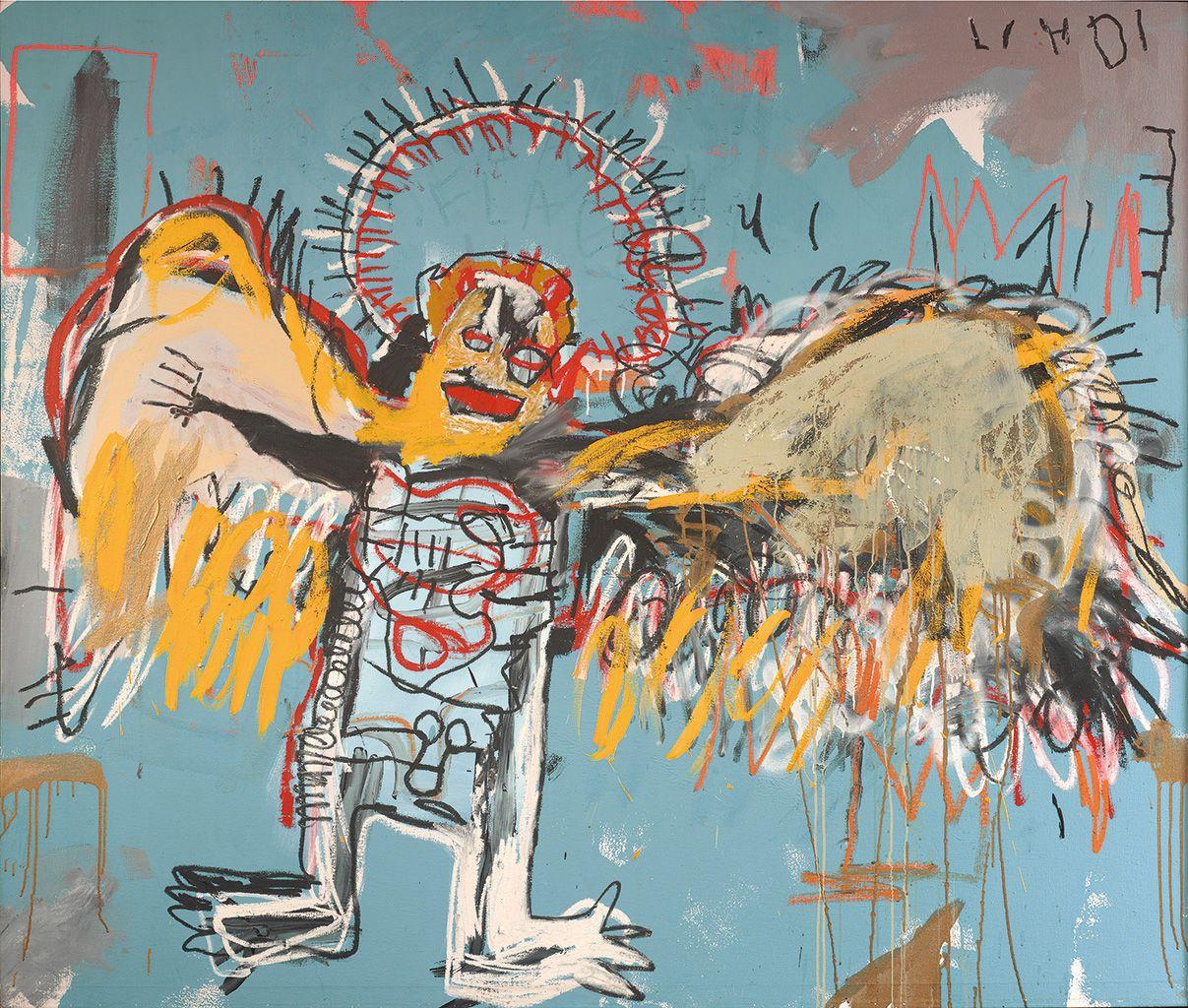 Fallen Angel, obra de Jean-Michel Basquiat