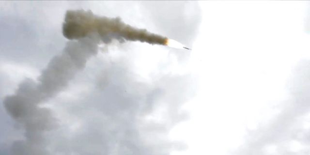 first oniks cruise missile launch in chukotka, russia