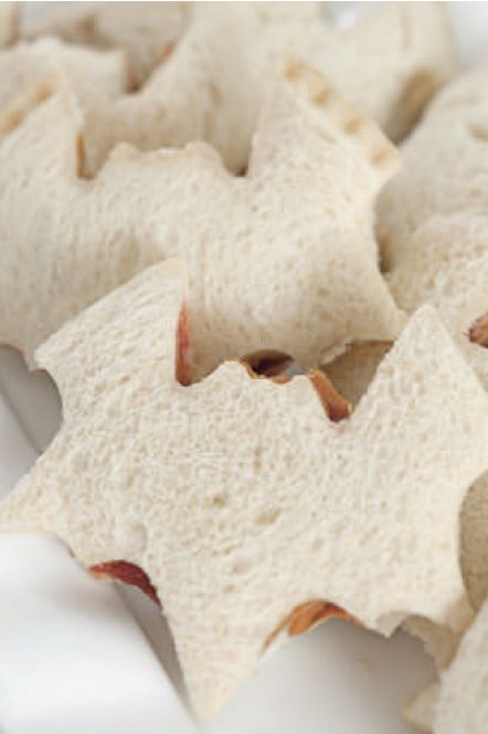 bat peanut butter and jelly sandwiches