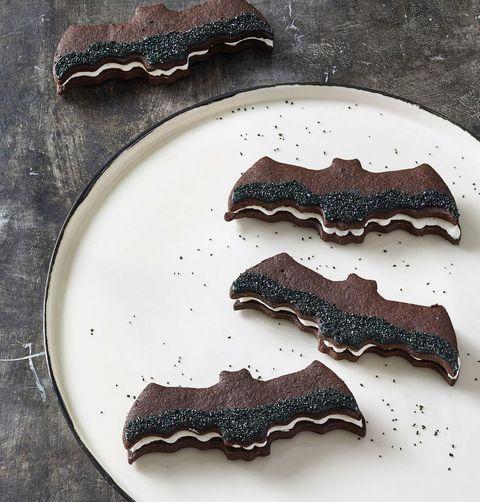 Bat Sandwich Cookies