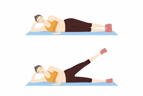 Physical fitness, Leg, Arm, Pilates, Joint, Exercise, Crunch, Human body, Knee, Mat,