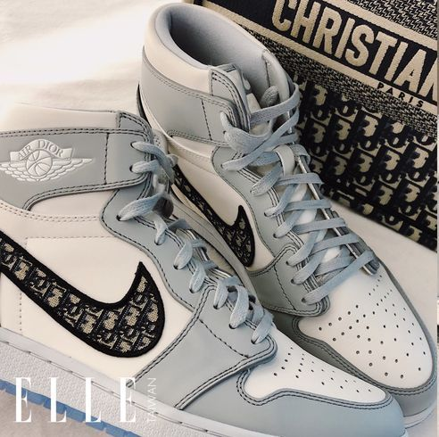 dior 推出air jordan1 聯名款球鞋曝光!把 nike 勾勾換上經典品牌圖騰太時髦  開賣資訊球鞋控必須筆記