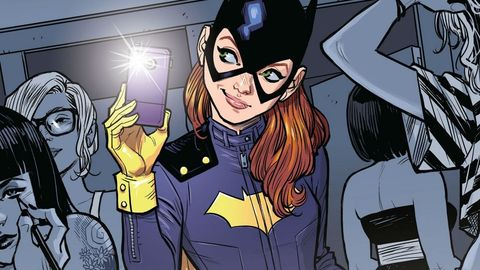 Portada comic Batgirl