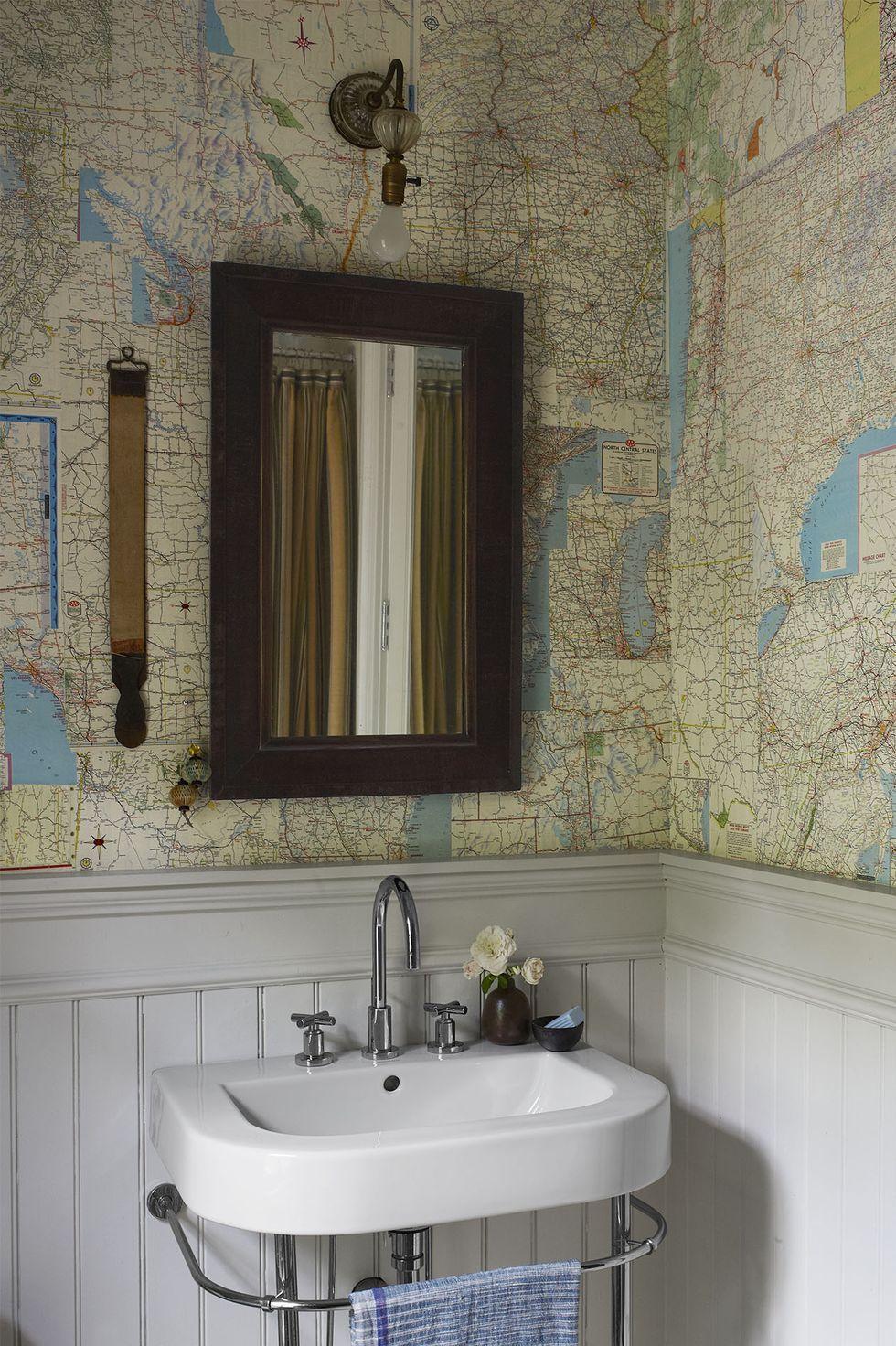 Best Bathroom Wallpaper Ideas 22 Beautiful Bathroom Wall Coverings