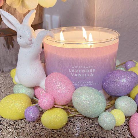 Easter, Easter egg, Food, Egg, Candle, Event, Holiday, Easter bunny, Egg,