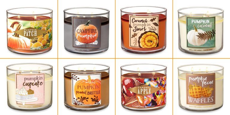 Bath And Body Works Fall 2018 Autumn Candle Scents At