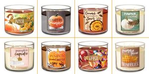 bath and body works fall 2018 candles