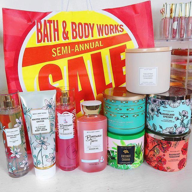 bath  body works semi annual sale