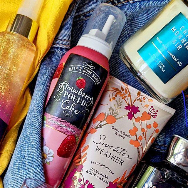 bath  body works fall products