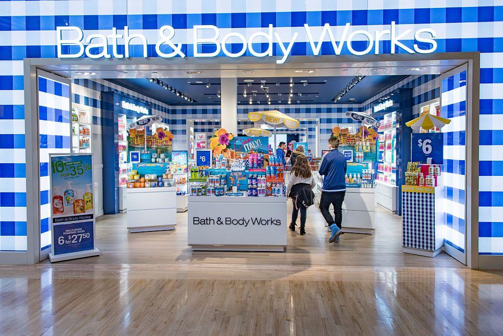 Bath body works test stores