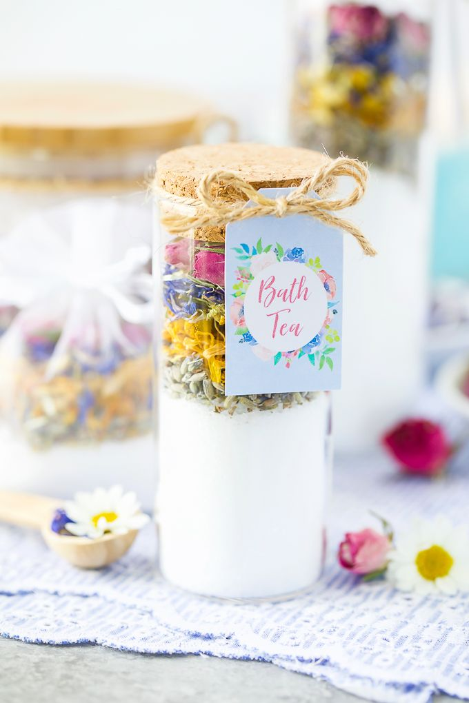 Bath Tea - DIY Mother's Day Gifts