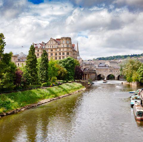 Bath - city and river