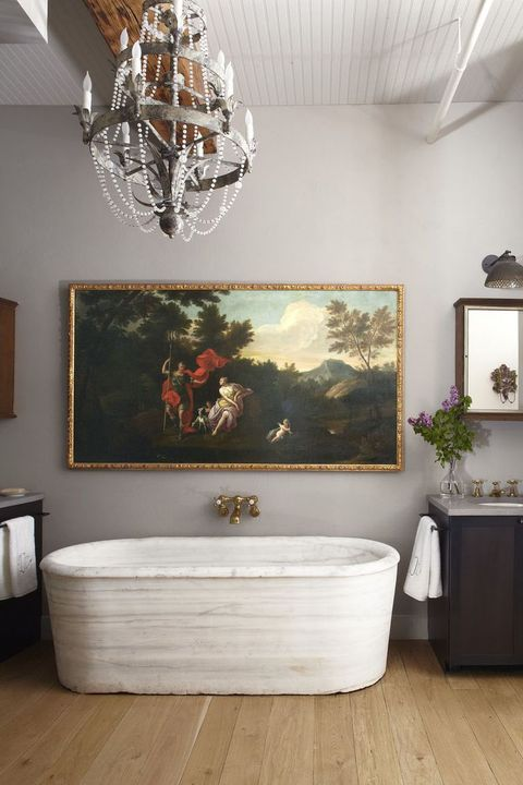 13 Chic Bathroom Art Ideas Best Artwork For Bathrooms