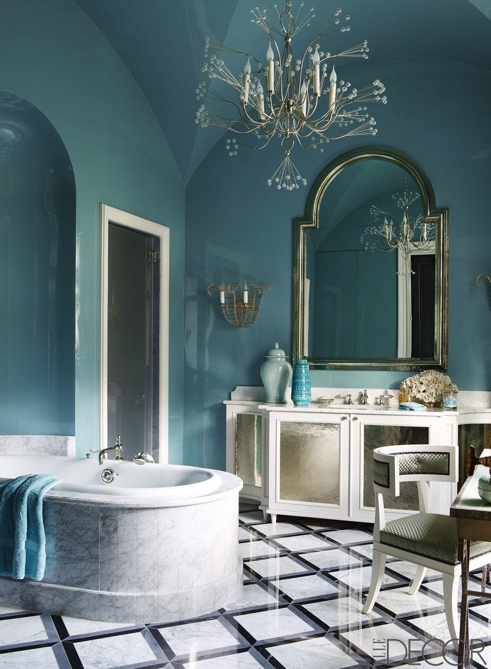 23 best bathroom paint colors top designers ideal wall paint hues rh elledecor com