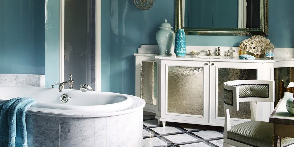 23 Best Bathroom Paint Colors - Top Designers' Ideal Wall Paint Hues for Bathrooms