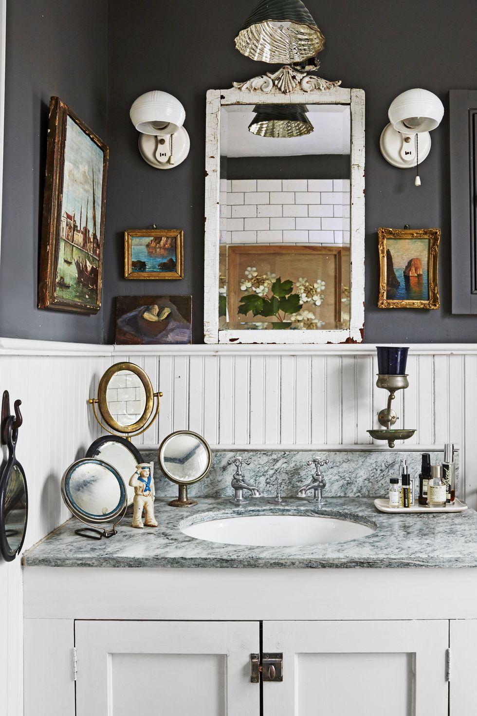55 Bathroom Decorating Ideas Pictures, Vintage Bathroom Decor
