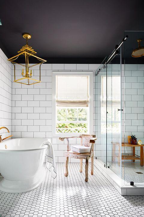 15 Chic Bathroom Lighting Ideas Flattering Light For Bathrooms,Subway Tile Backsplash Around Kitchen Window