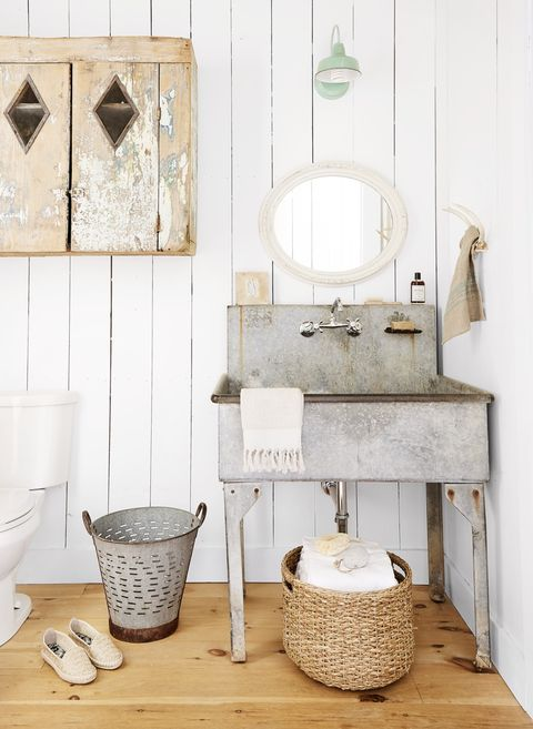 bathroom lighting ideas mint green barn light sconce
