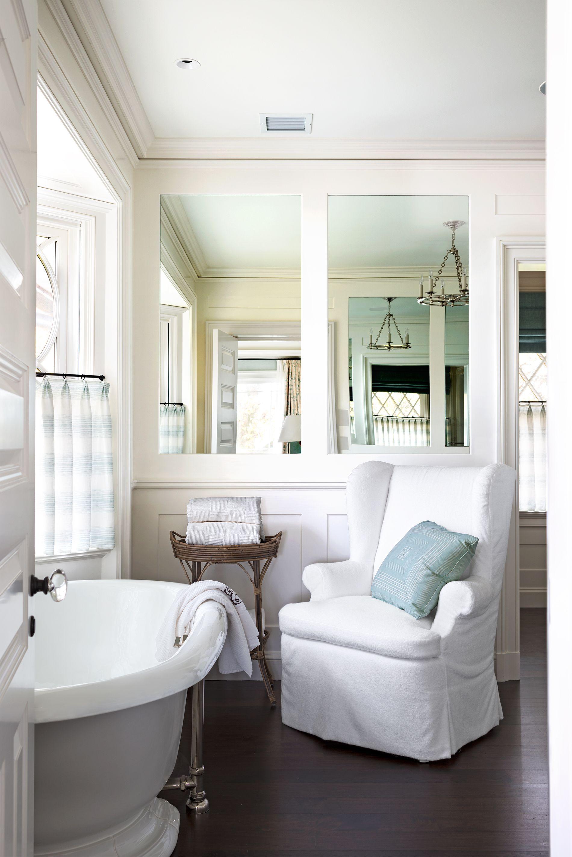 House Beautiful & 20 Bathroom Mirror Ideas for Every Style - Bathroom Wall Decor