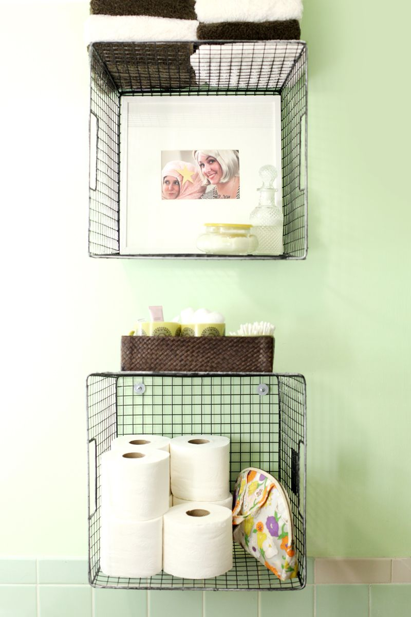 bathroom organization ideas baskets