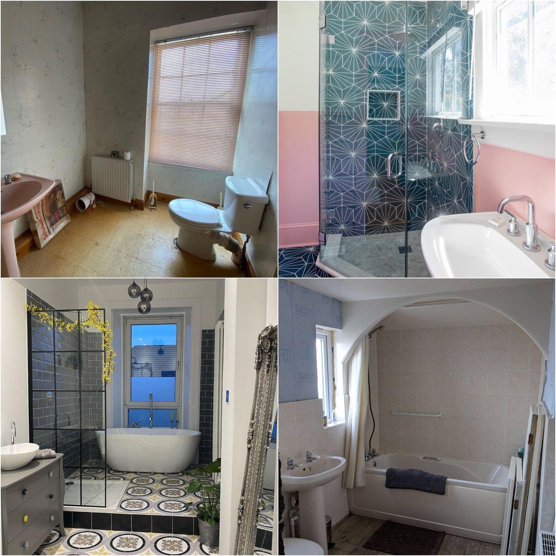 Before & After: 11 impressive bathroom renovations on Instagram
