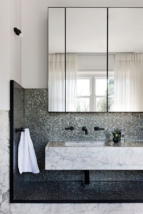 40 Bathroom Tile Design Ideas - Tile Backsplash and Floor ...