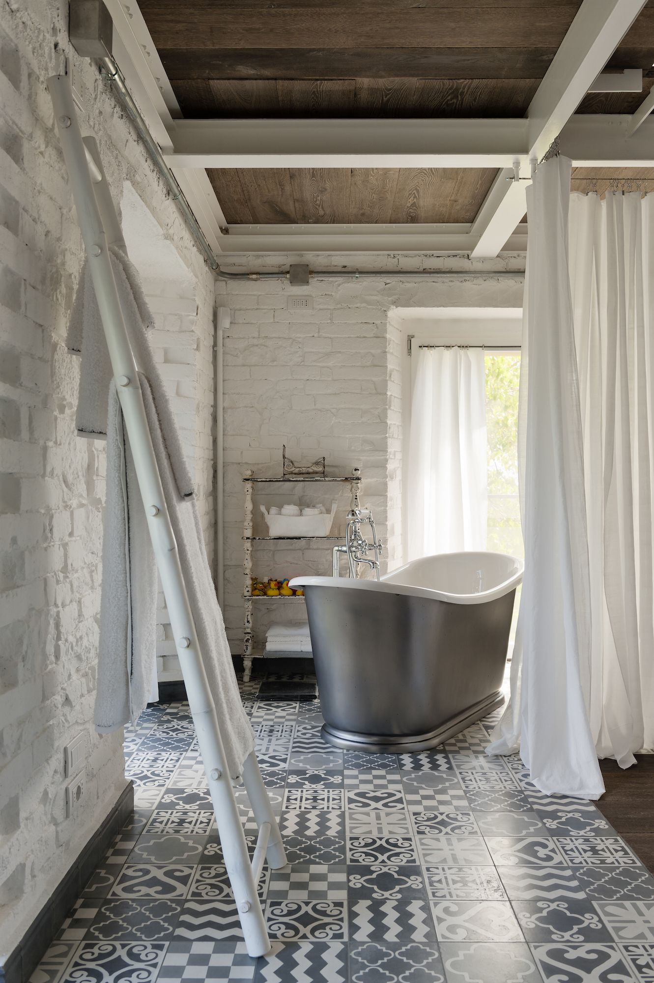 Gone Are The Days Of Tile Floors Blending Into Background A Room In 2017 You Ll See Reemergence Patterned Tiles Perhaps Reflective This